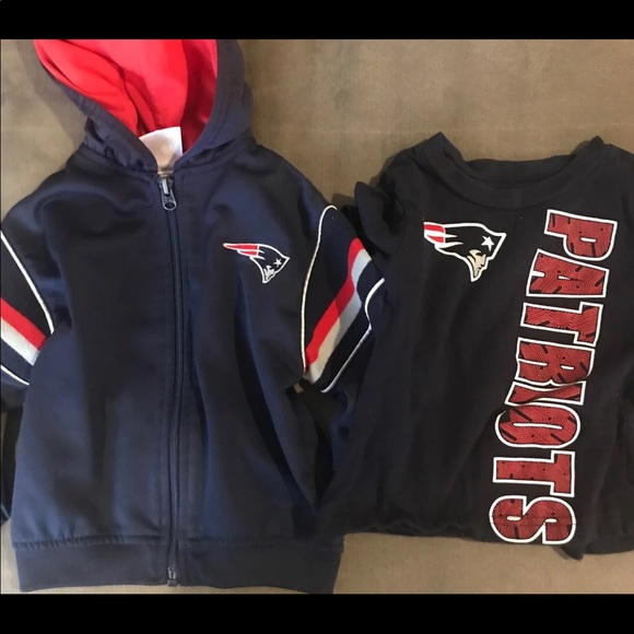 NFL Other - New England Patriots Toddler 2T 24m hoodie & tee
